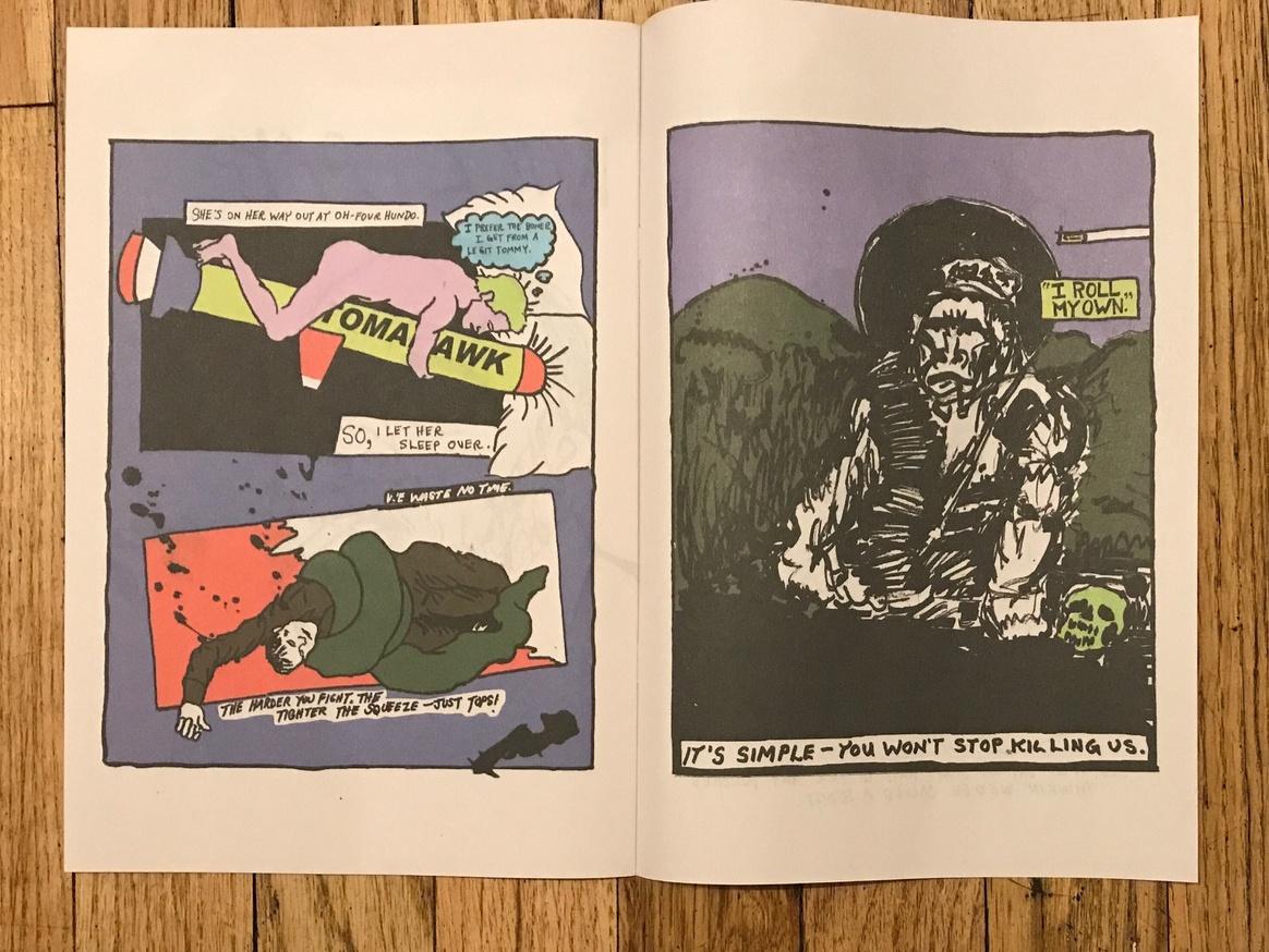 Bullseye Comics #2: Constriction thumbnail 4