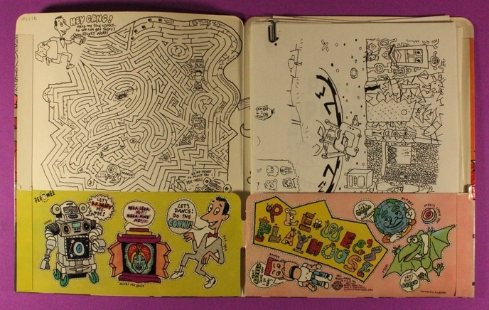 Pee-Wee's Playhouse Folder with Coloring Book Pages thumbnail 3