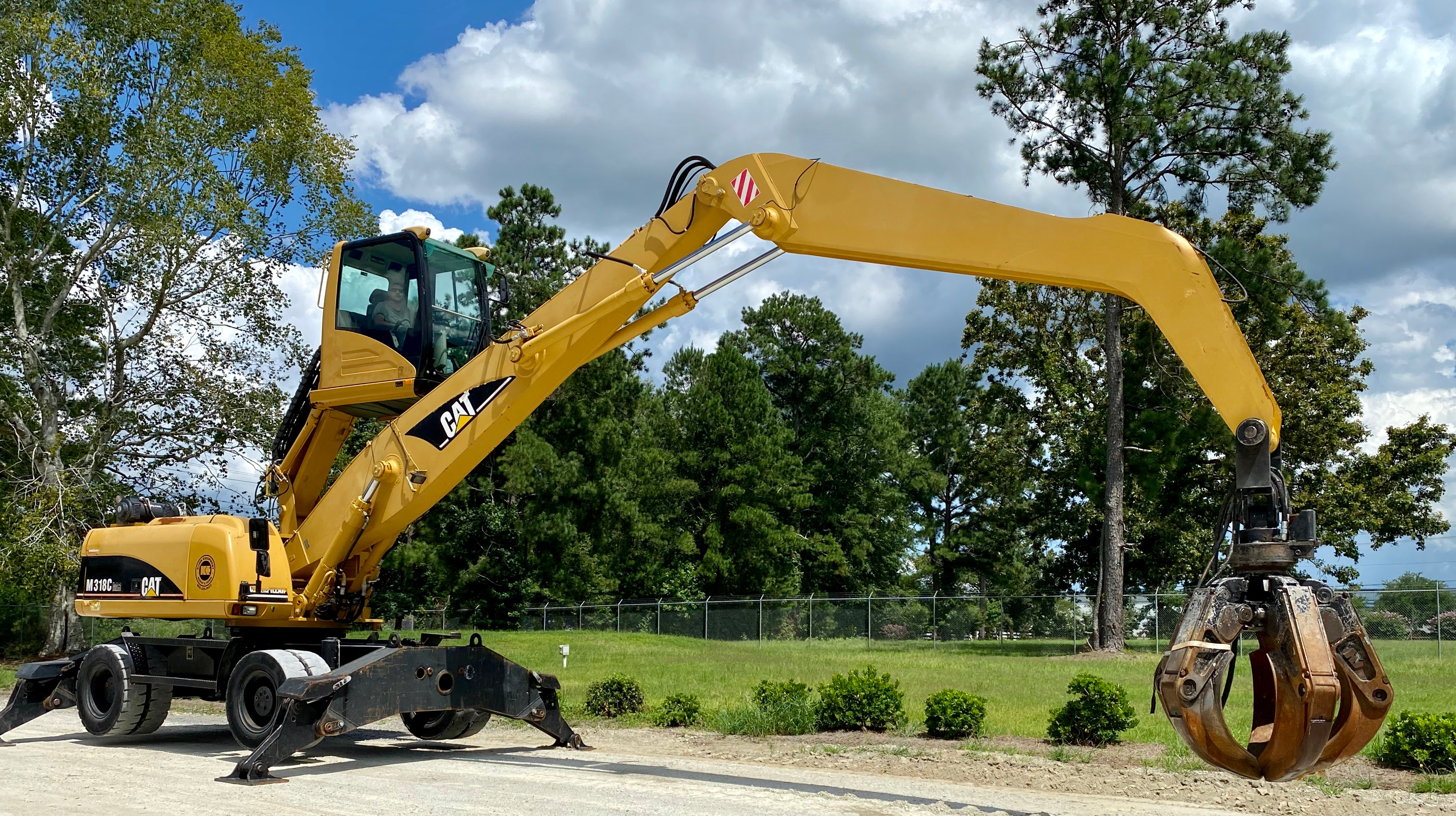 Used 2003 Caterpillar M318C MH For Sale