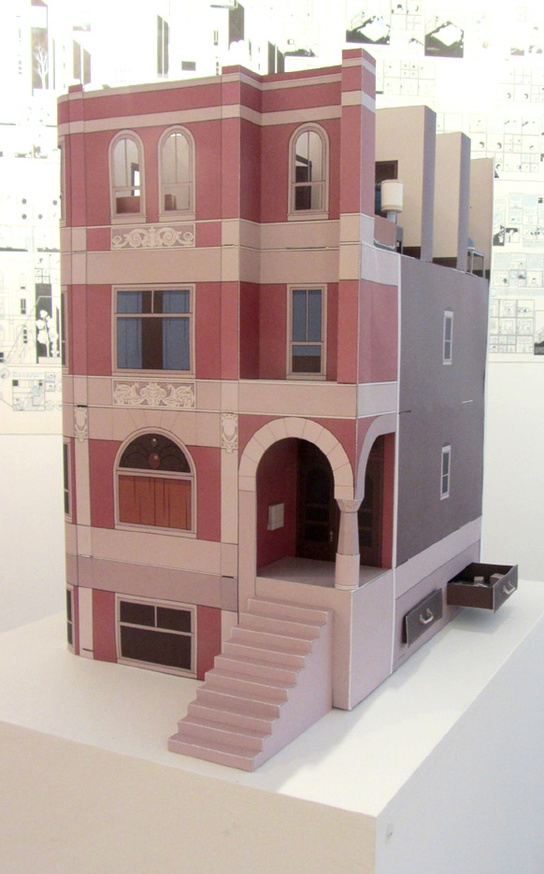 Multi-Story Building Model Print