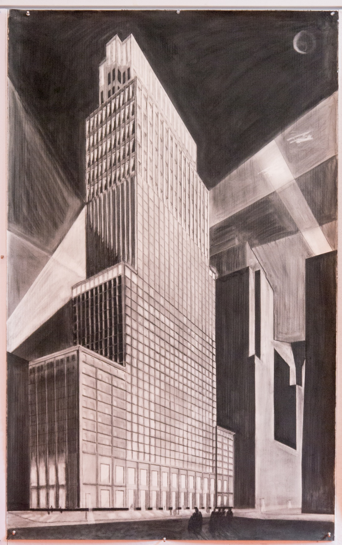 Drawing by Dov Feinmesser