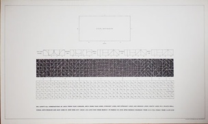 All Combinations of Arcs From Four Corners, Arcs From Four Sides, Straight Lines, Not-Straight Lines and Broken Lines, White Lines on a Black Wall