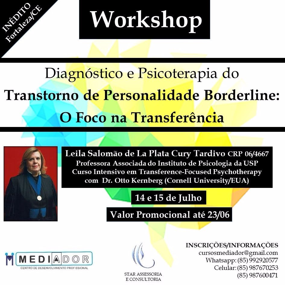 Diagnóstico e Psicoterapia do Transtorno de Personalidade Borderline: O Foco na Transferência