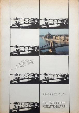 Prospekt 80/1 - 6 Hongaarse Kunstenaars / Six Hungarian Artists