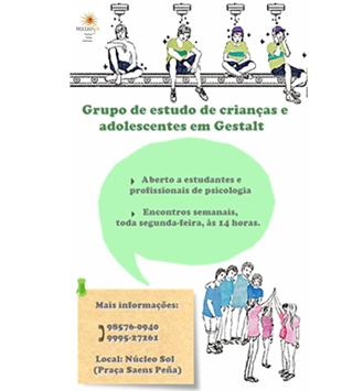 Grupo de Estudo de crianças e adolescentes em Gestalt