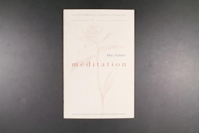 Méditation : Un Oeuvre Commandeé par le CEAAC au Nom de la Ville de Strasbourg et Installée en Juin 1996 dans les Jardins de l'Université thumbnail 4