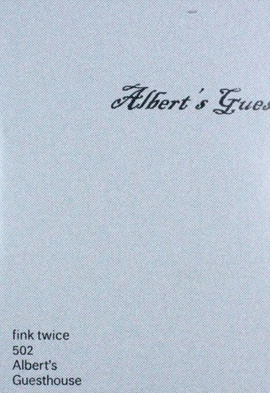 Albert's Guesthouse