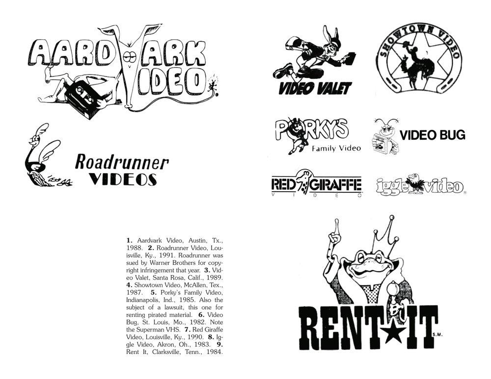 Videoland: A Visual Catalog of American Video Store Logos, 1980-1995 thumbnail 2