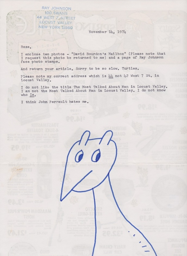 Untitled [November 14, 1974 Letter]