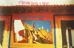 Tibetan Locks & Keys (Leo Castelli Gallery) Poster