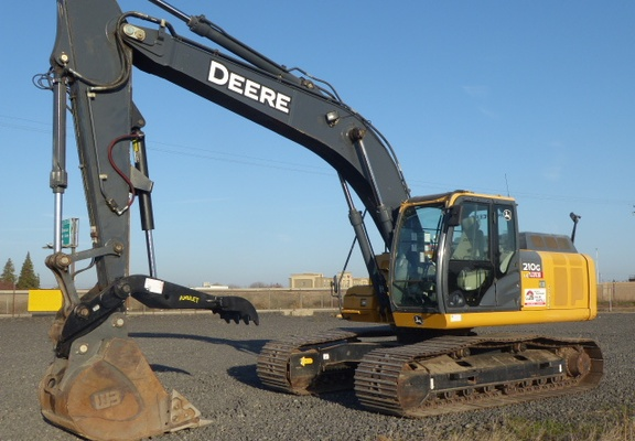 Used 2013 John Deere 210G LC For Sale