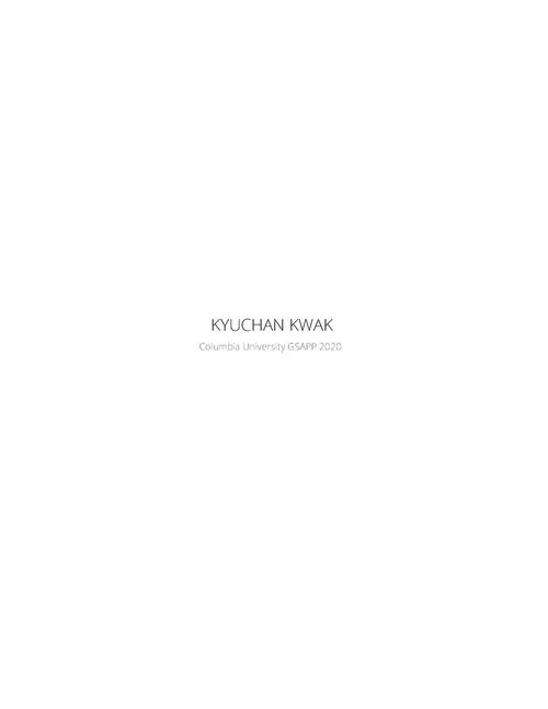 AAD KwakKyuChan SP20 Portfolio.pdf_P1_cover.jpg