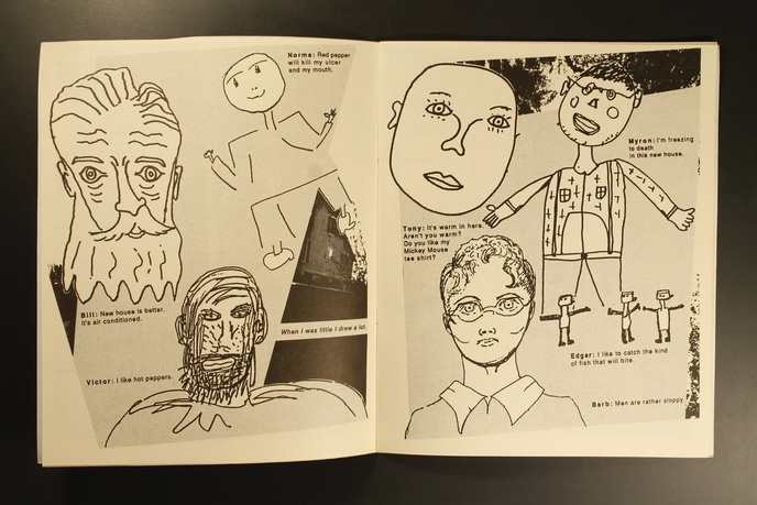 Home : With Drawings and Words from Residents of the DePaul Mental Health Group Home Center