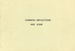 Common Reflections and Back