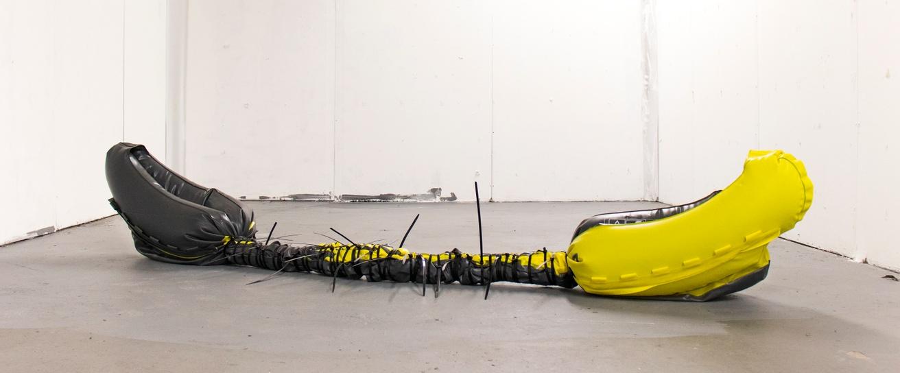 Untitled (Inflatable Kayak, Zip Ties) thumbnail 2