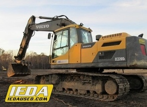 Used 2014 Volvo EC220DL For Sale