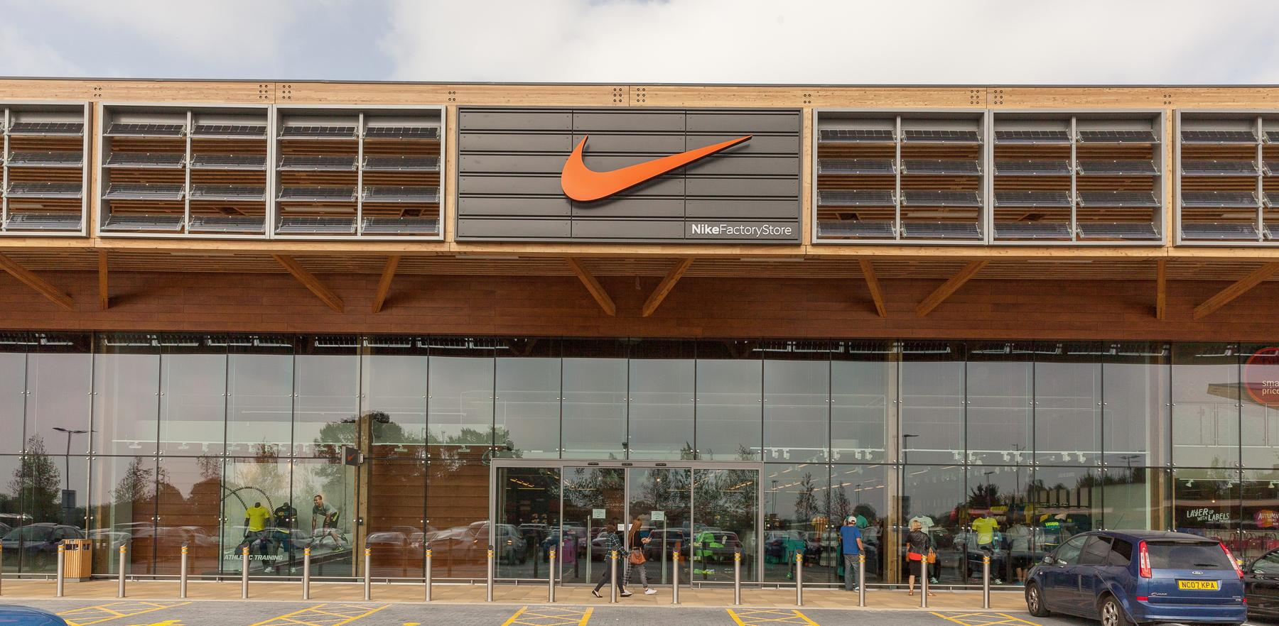 nike outlet wembley times