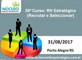 RH Estratégico - Recrutar e Selecionar 31/08