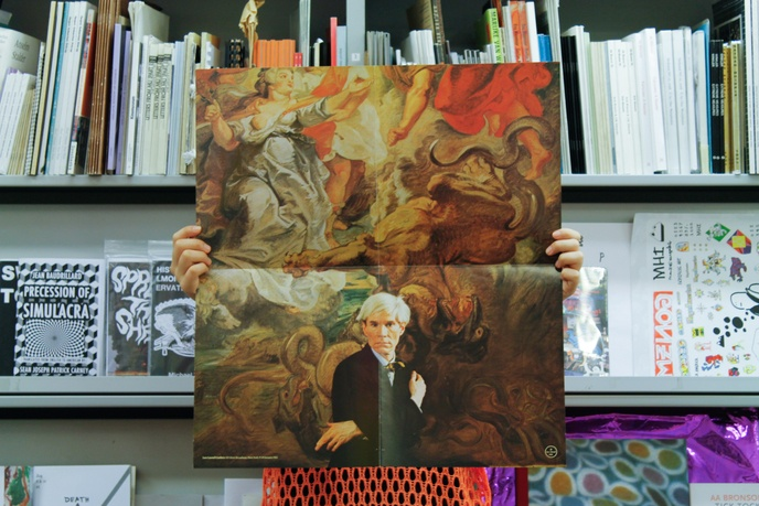 Andy Warhol [Portrait of Warhol by Hans Namuth] thumbnail 1