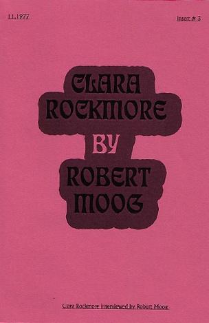 Clara Rockmore by Robert Moog