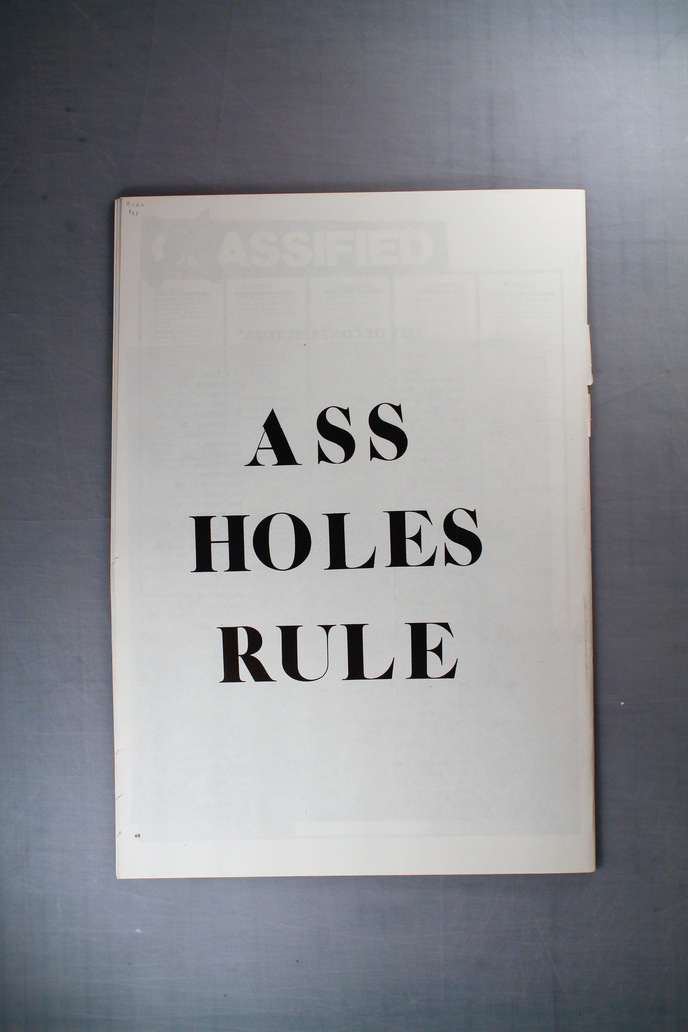 Another ass hole just