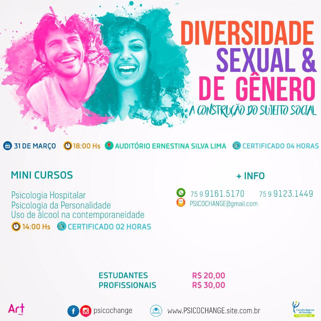 Psicochange: Diversidade Sexual e de gênero