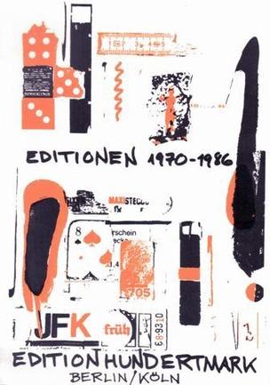 Editionen 1970 - 1986 : Edition Hundertmark