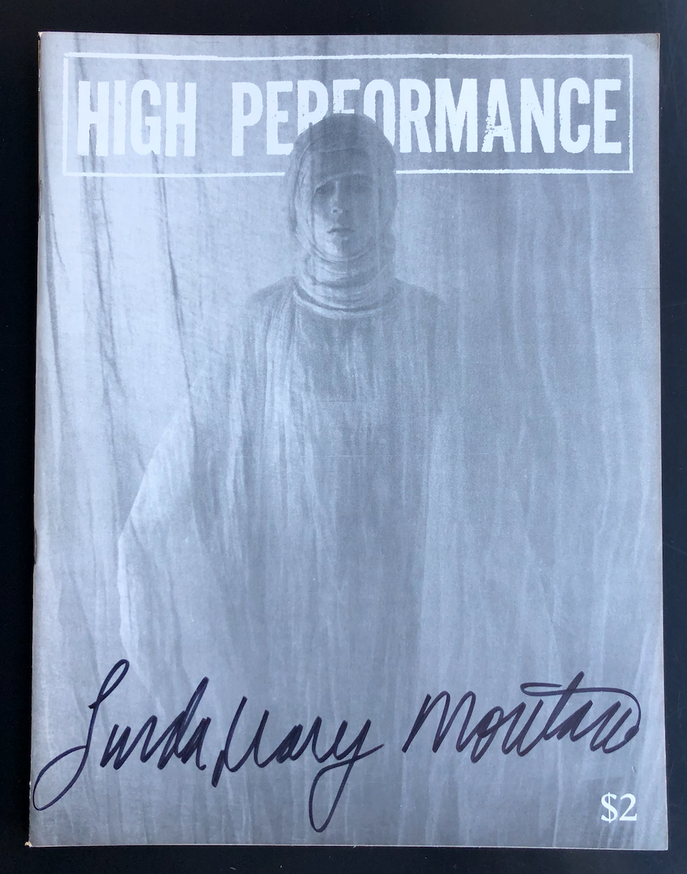 High Performance Vol. 1 no. 4 (SIGNED)