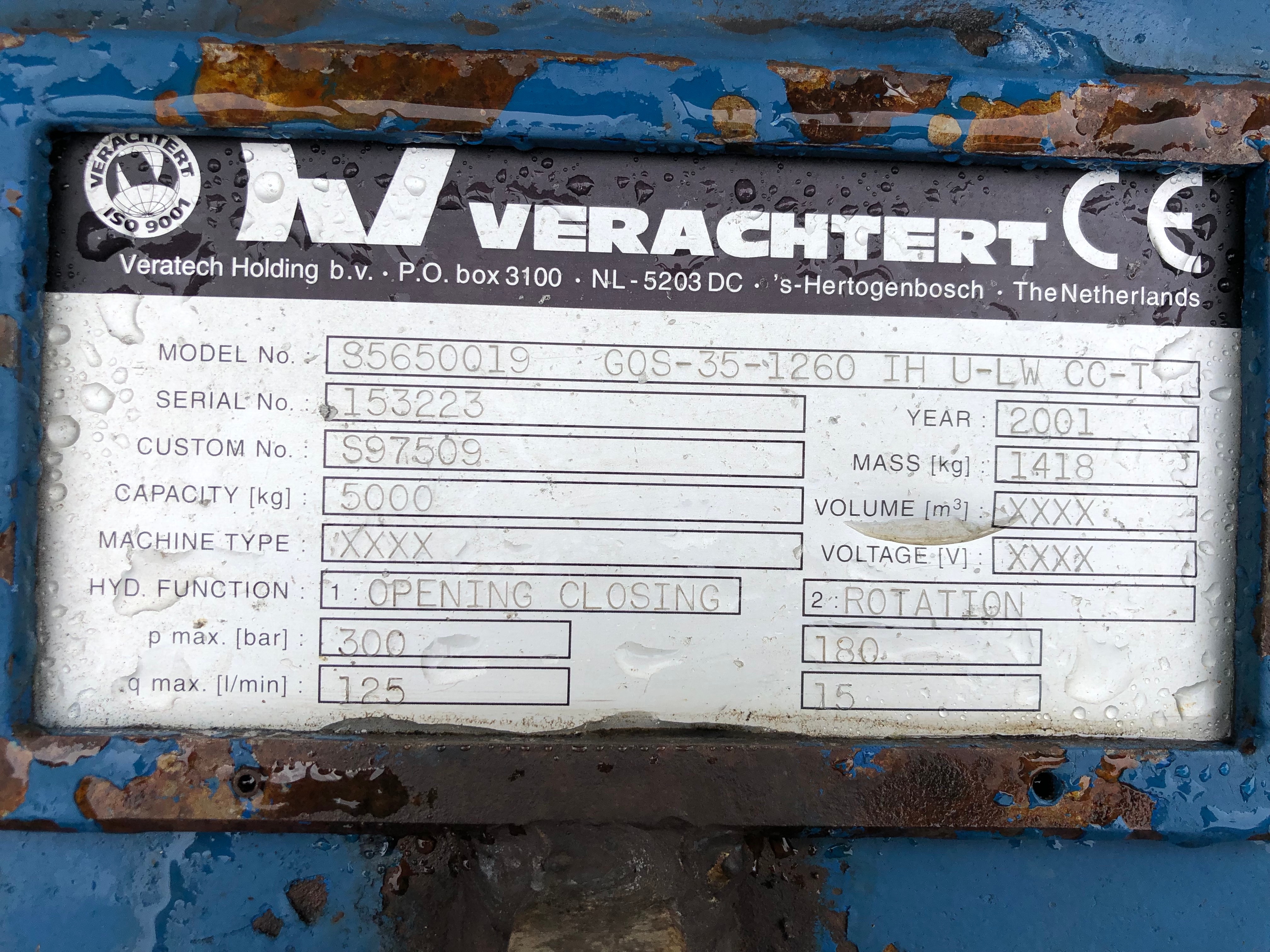 Used  Caterpillar GOS-35-1260 For Sale