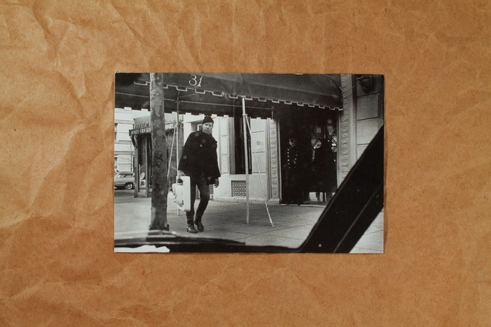 Ray Johnson Black and White Postcards thumbnail 3