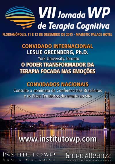 VII Jornada WP de Terapia Cognitiva O Poder Transformador da Terapia Focada nas Emoções