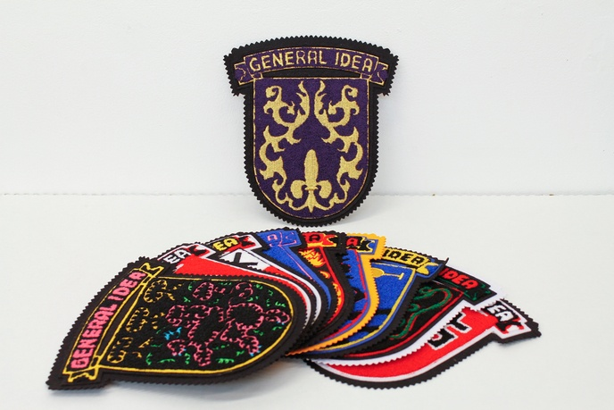 General Idea Crests Full Set of 10
