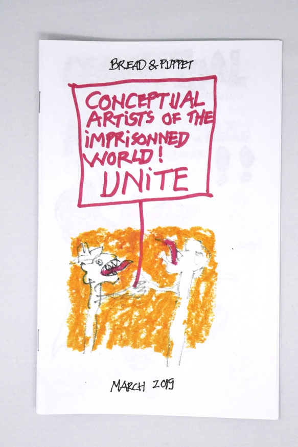 Conceptual Artists of the Imprisonned World! UNITE