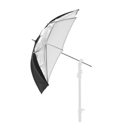 Lastolite Black/Silver/White Convertible  Umbrella 30""