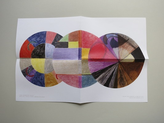 Drawing Hilma Af Klint : A  Coloring Book Influenced by the Work of Hilma Af Klint thumbnail 2