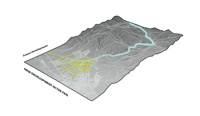02d Conflict between masterplan and natural water flow (new development).png