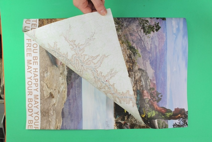 Grand Canyon Suicide Map / Metta Meditation, Grand Canyon National Park thumbnail 3
