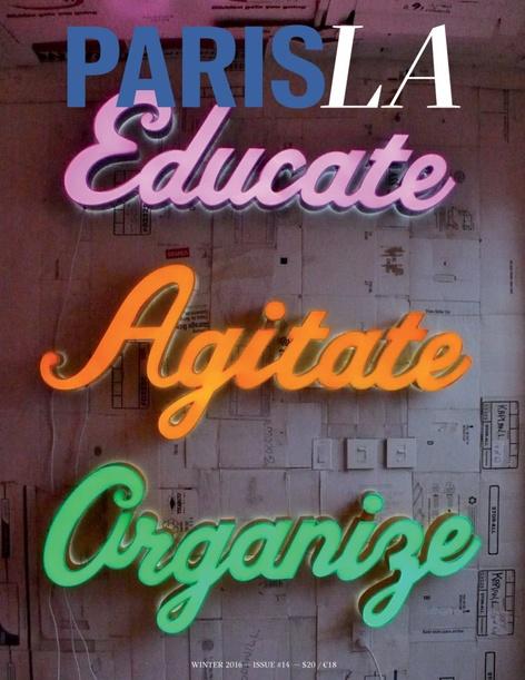 """PARIS, LA, """"Art Education"""" - Issue 14 Launch"""