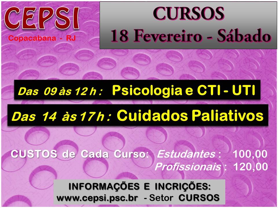 CEPSI - CURSOS DE SÁBADOS