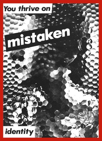 You Thrive On Mistaken Identity Postcard