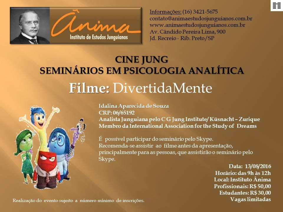 CINE JUNG SEMINÁRIOS EM PSICOLOGIA ANALÍTICA - DivertidaMente