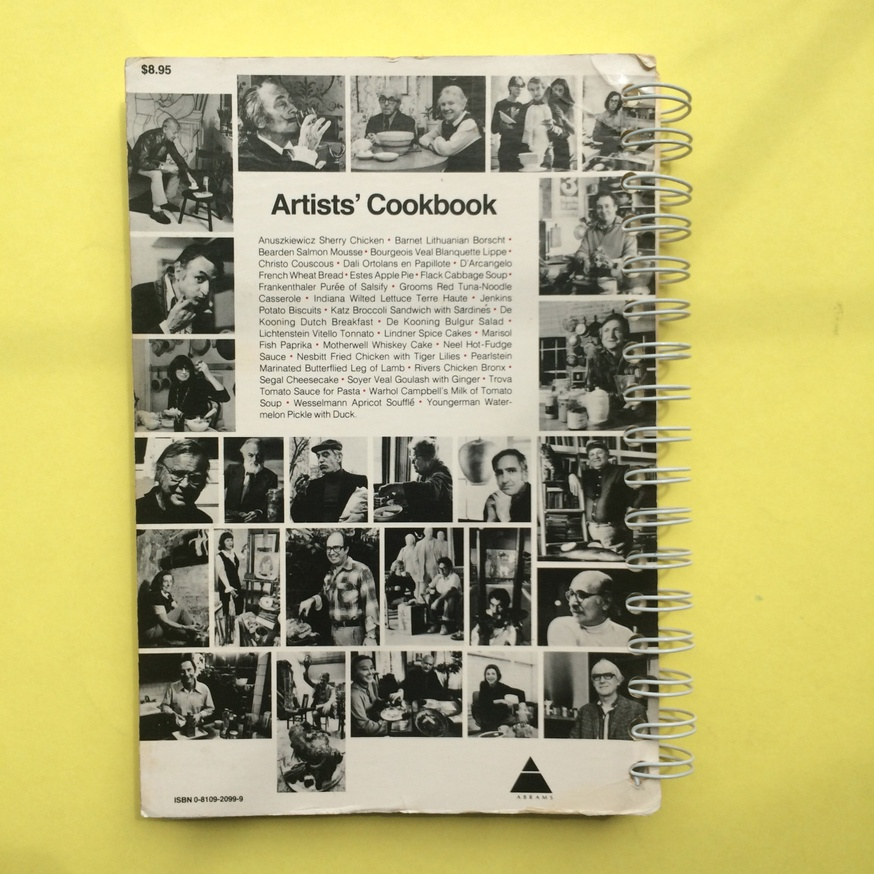 The Museum of Modern Art Artists' Cookbook  thumbnail 9