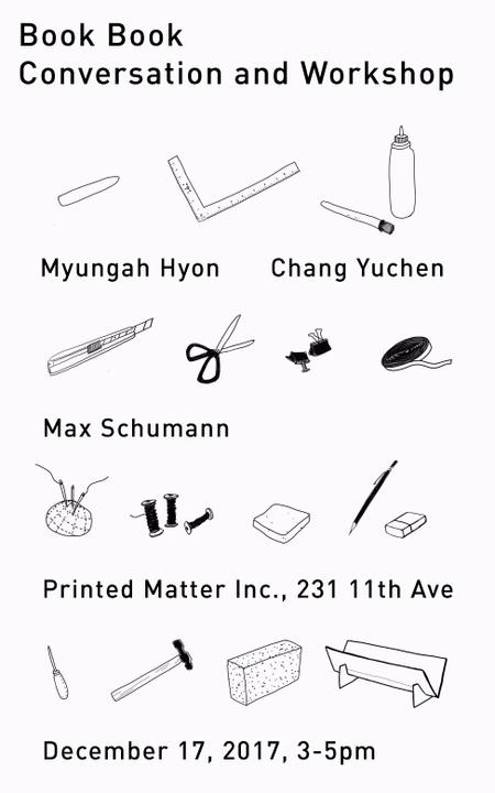 Book Book - Conversation and Workshop with Myungah Hyon & Chang Yuchen