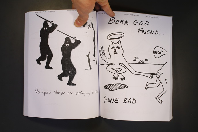 Viva La Marriage : Drawings Faxed by Frank Olive and Rudy Shepherd thumbnail 3