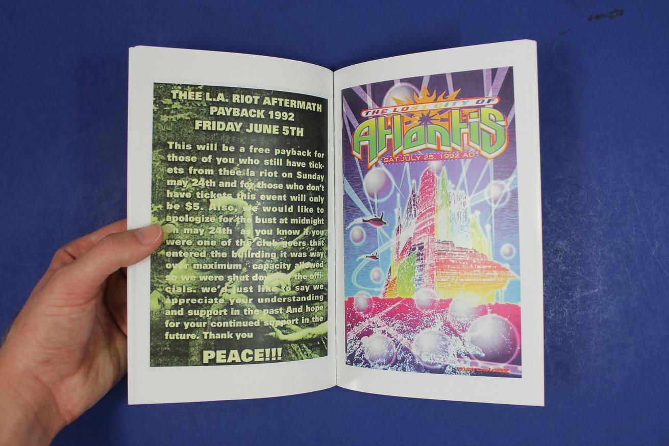 Los Angeles Rave Flyers 1991-1994 thumbnail 2