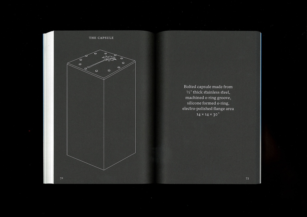 The Book of Record of the Palm Capsule Designed for resisting the effects of time. thumbnail 4