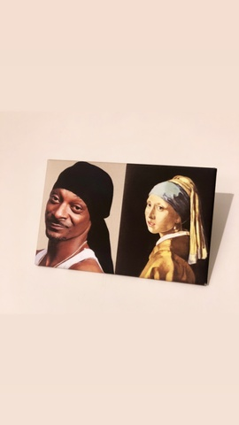Snoop and the Pearl Earring
