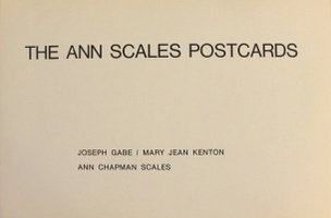 The Ann Scales Postcards : March 14, 1973 - March 14, 1975