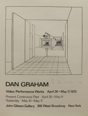 Dan Graham : Video/Performance Works April 26 - May 17, 1975