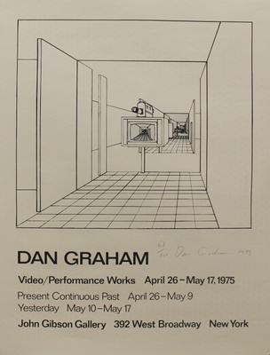 Dan Graham : Video/Performance Works April 26 - May 17, 1975